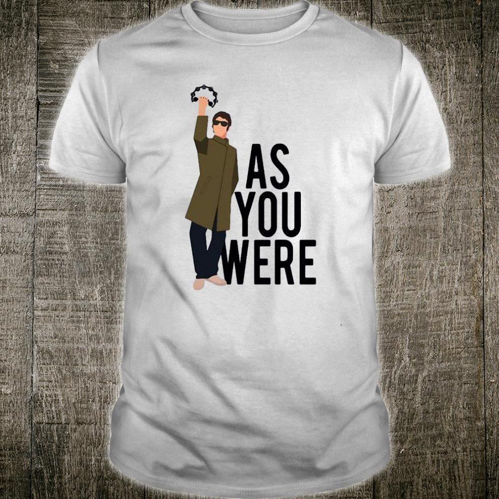 As you were shirt