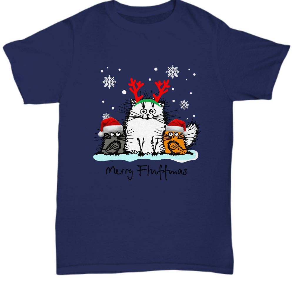Cat merry fluffmas Shirt