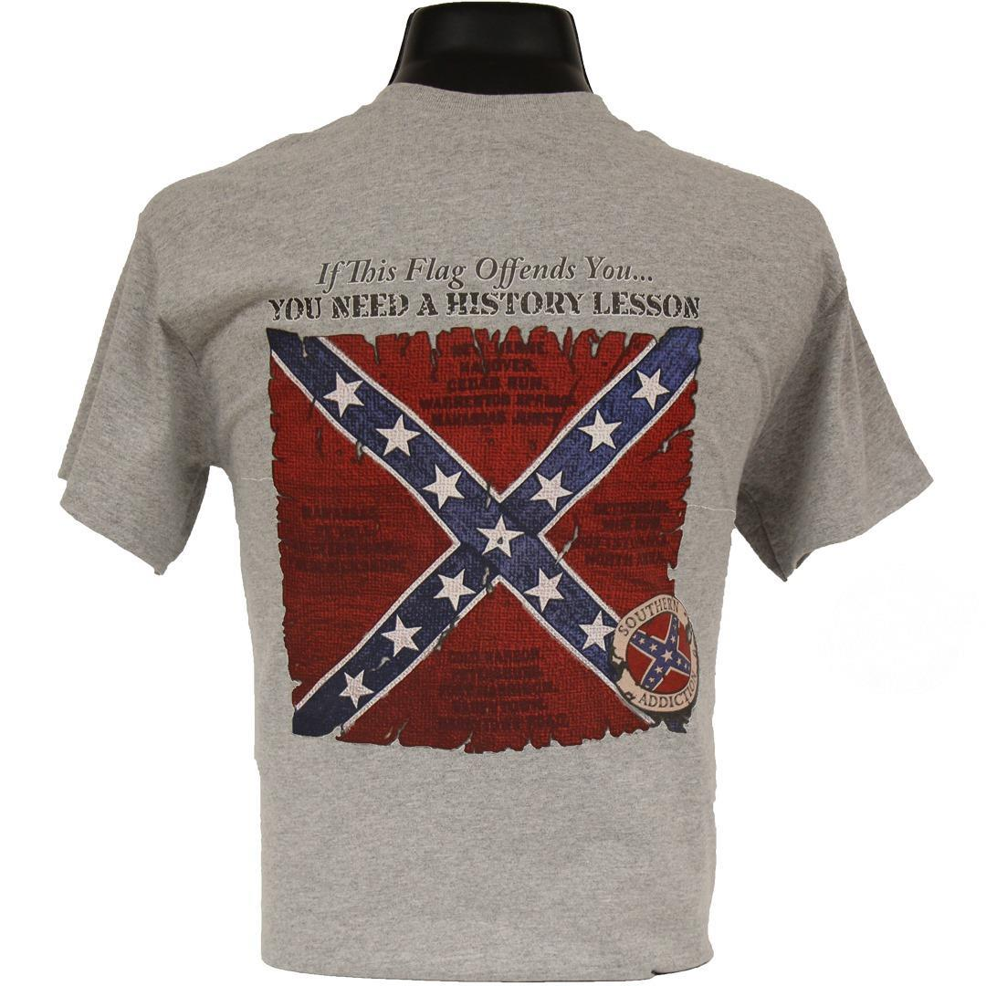 If this flag offends you you need a history lesson shirt