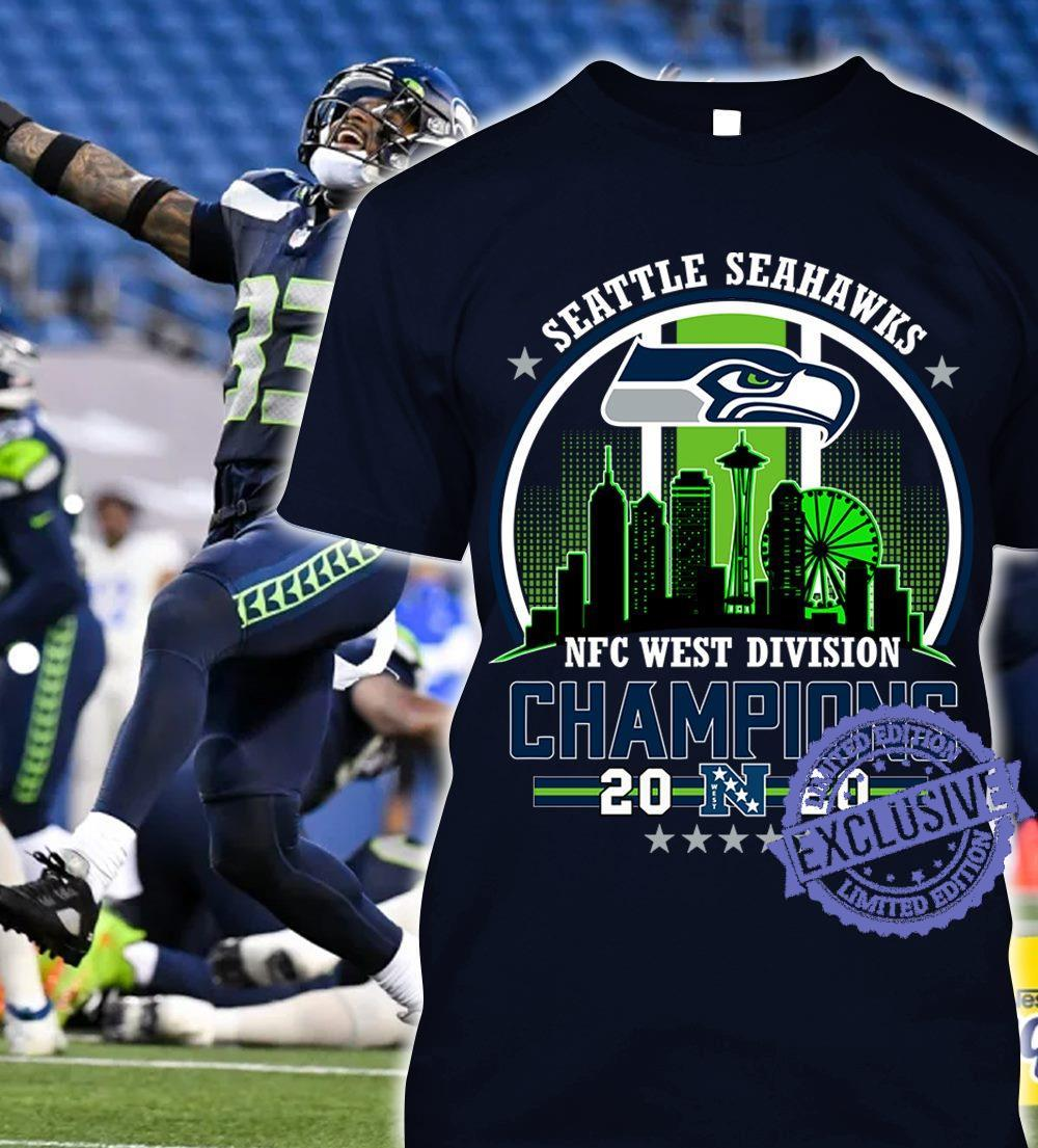 Seattle seahawks nfc west division champions 2020 shirt